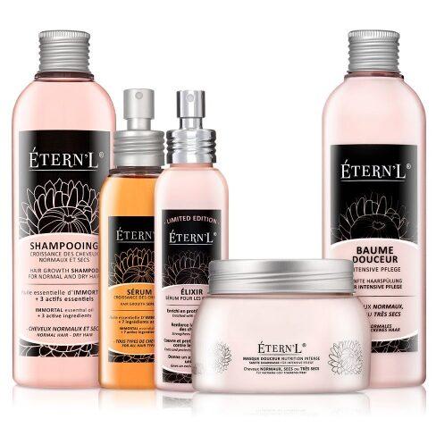 Etern'l  hårväxtterapi - max set